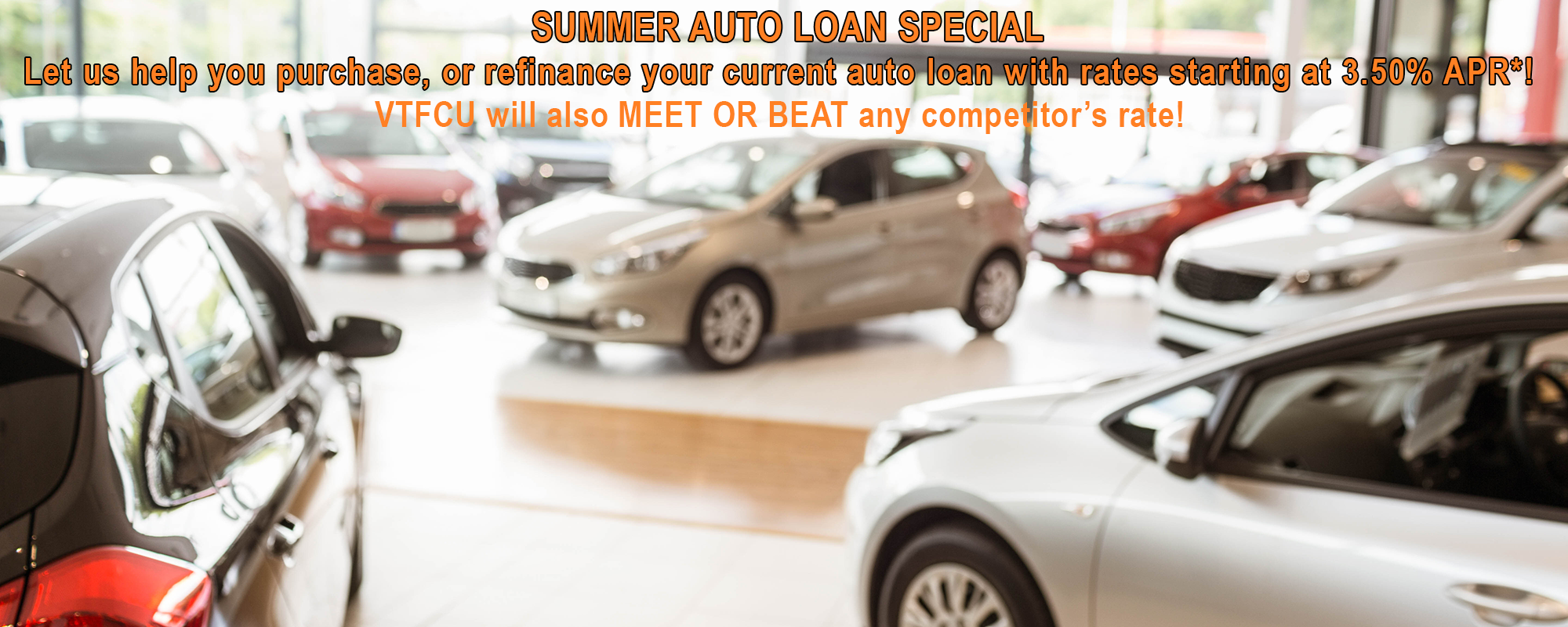 Summer Auto Loan Special