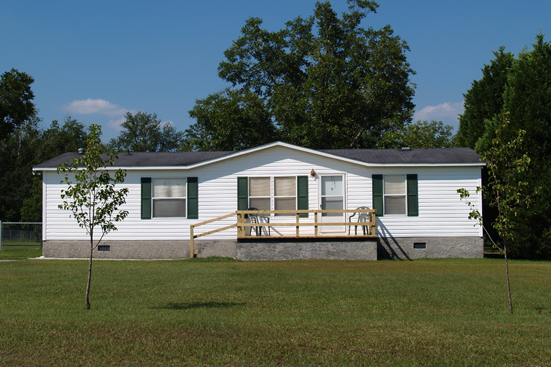 Image of a mobile home